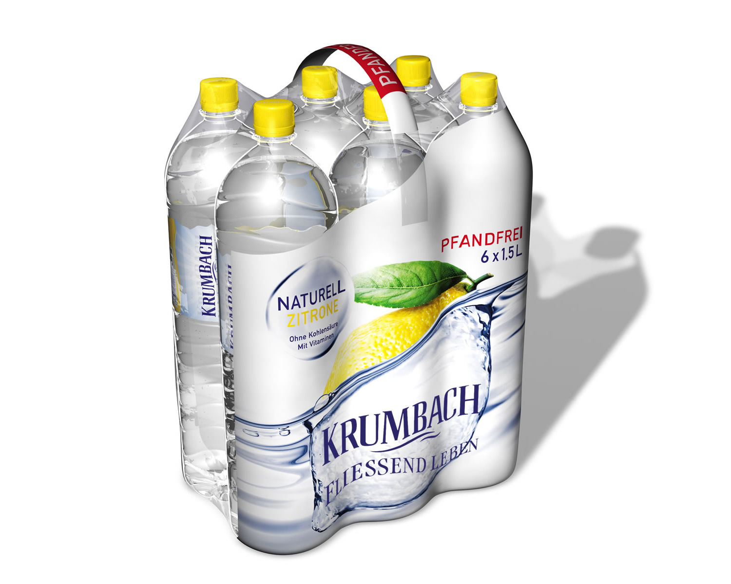 Naturell Zitrone 6-Pack